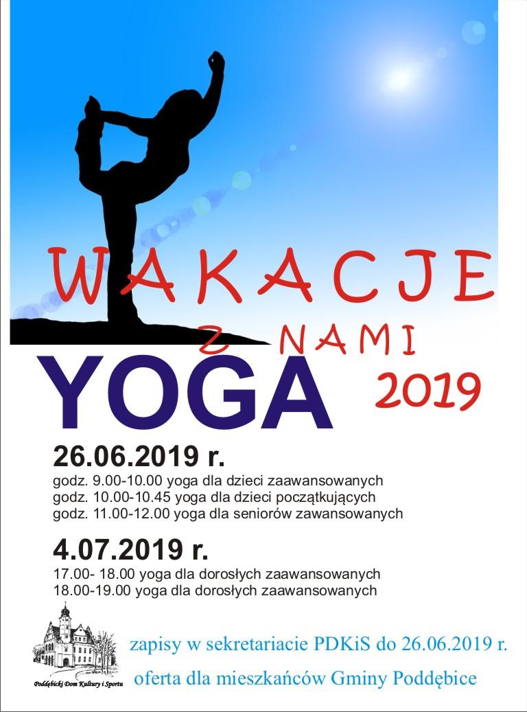 Wakacyjna Yoga
