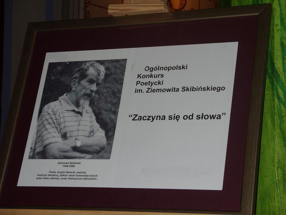 """8 Ogólnopolski Konkurs Poetycki """"Zaczyna się od słowa"""" 2019"""