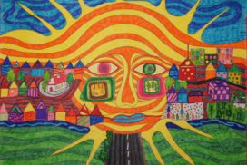 Konkurs plastyczny  Moja miejscowość obrazem opowiedziana